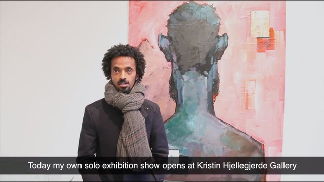 Dawit Abebe: Background 2 at Kristin Hjellegjerde Gallery
